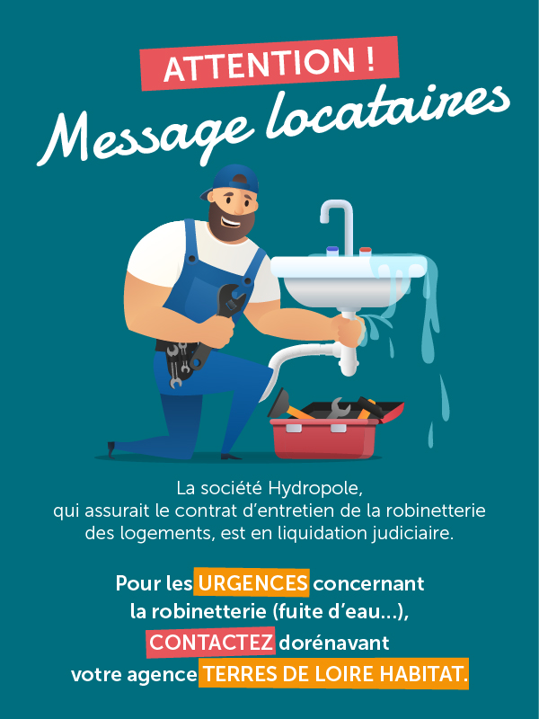 Message important locataires